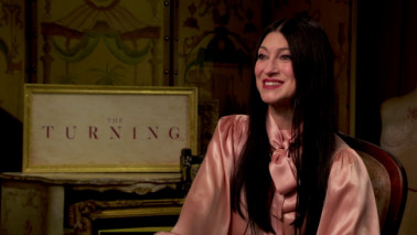 Talking The Turning with Director Floria Sigismondi | We Live Entertainment